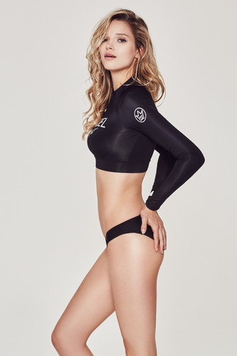 [WR-2] CROP TOP RASHGUARD BLACK